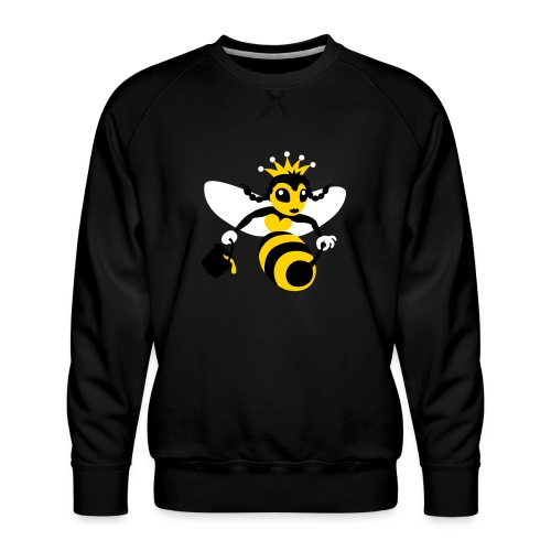 Queen Bee - Men's Premium Sweatshirt