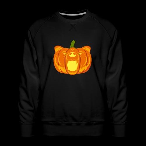 Pumpkin Bear - Men's Premium Sweatshirt