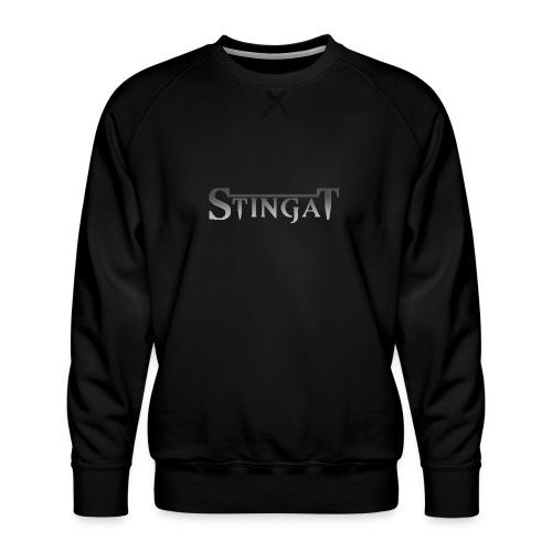 Stinga T LOGO - Men's Premium Sweatshirt
