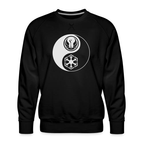 Star Wars SWTOR Yin Yang 1-Color Light - Men's Premium Sweatshirt