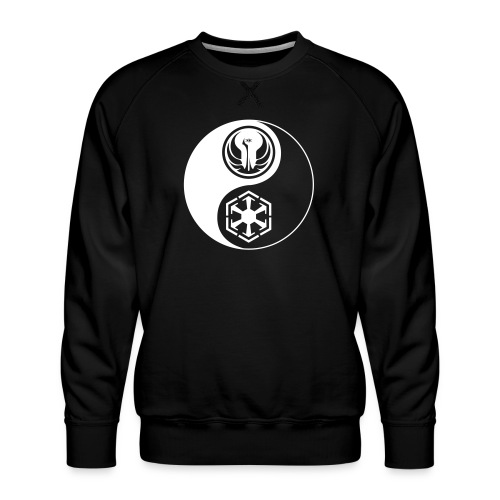 Star Wars SWTOR Yin Yang 1-Color Light - Men's Premium Sweatshirt