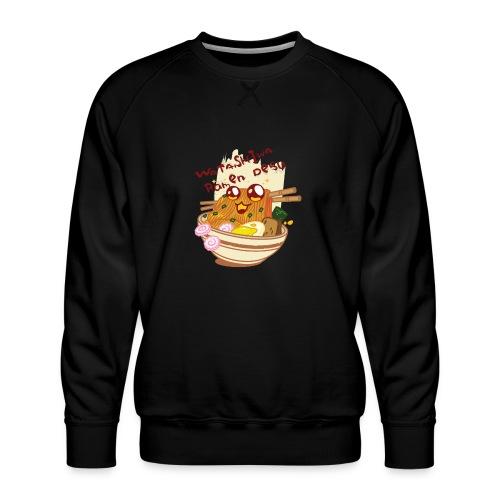 Watashiwa Ramen Desu - Men's Premium Sweatshirt