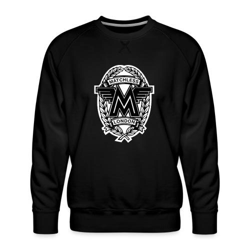 Matchless London emblem / AUTONAUT.com - Men's Premium Sweatshirt