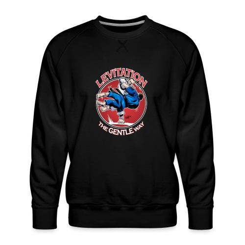 Judo Shirt - Levitation for dark shirt - Men's Premium Sweatshirt