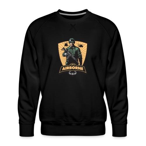 Air Assault Trooper - Men's Premium Sweatshirt