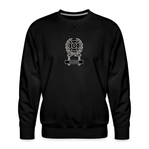 Expert Hacker Qualification Badge - Men's Premium Sweatshirt