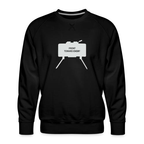 Claymore Mine (Minimalist/Light) - Men's Premium Sweatshirt