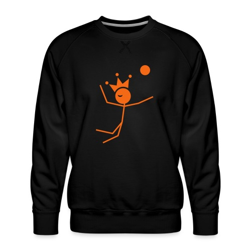 Volleyball King - Men's Premium Sweatshirt