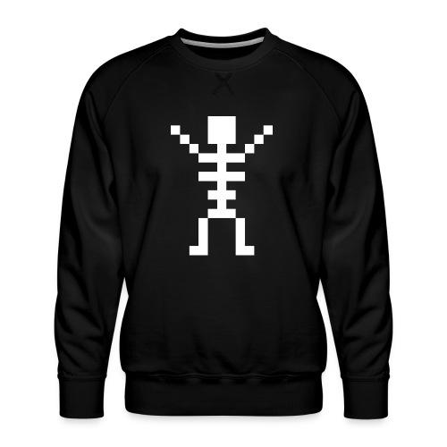 Happy Skeleton - Men's Premium Sweatshirt