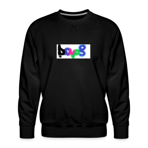 brush the haters off - Men's Premium Sweatshirt