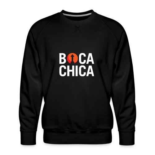 Boca Chica Starship Mars Silhouette - Men's Premium Sweatshirt