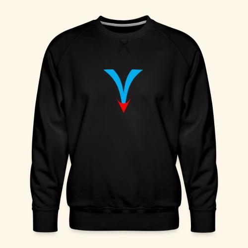 Simple V - Men's Premium Sweatshirt