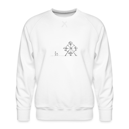 Ferris Wheel - Men's Premium Sweatshirt