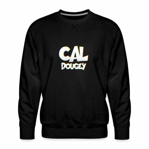 CAL DOUGEY TEXT - Men's Premium Sweatshirt