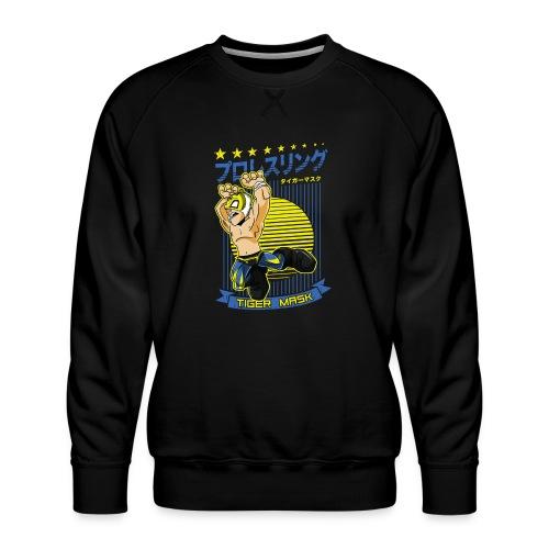 Tiger Mask - Men's Premium Sweatshirt