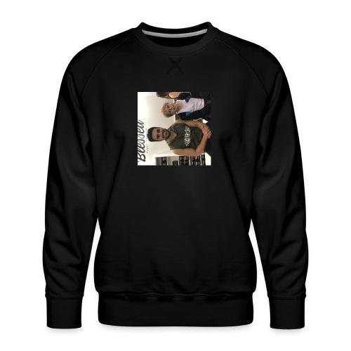 me with gorge janko - Men's Premium Sweatshirt