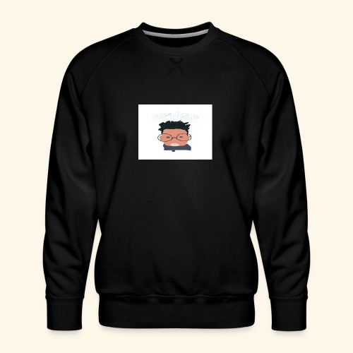 weiweigang logo edit - Men's Premium Sweatshirt