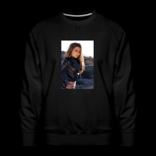 Rebecca Grant tuff and sexy - Men's Premium Sweatshirt