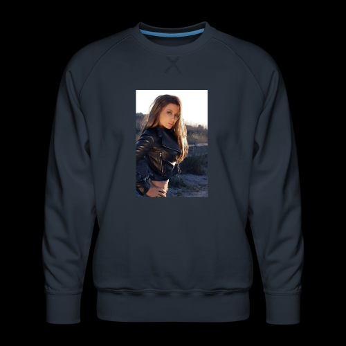 Rebecca Grant tuff and sexy - Men's Premium Sweatshirt
