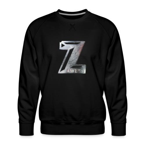 Zawles - metal logo - Men's Premium Sweatshirt