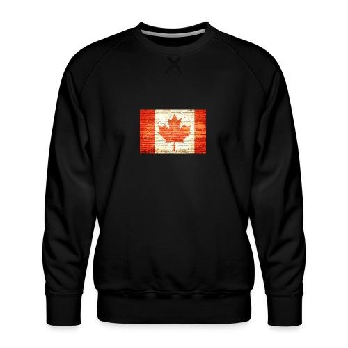 Canada flag - Men's Premium Sweatshirt