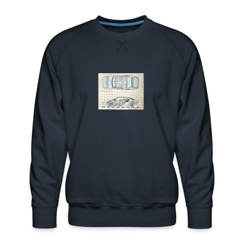 drawings - Men's Premium Sweatshirt
