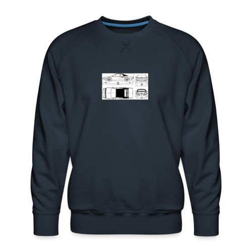 artists rendering - Men's Premium Sweatshirt