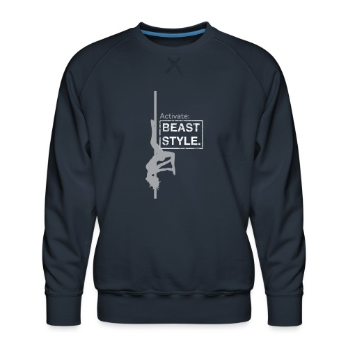 Activate: Beast Style - Men's Premium Sweatshirt