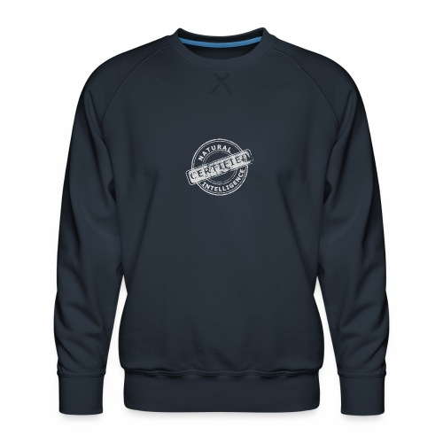Natural Intelligence inside - Men's Premium Sweatshirt