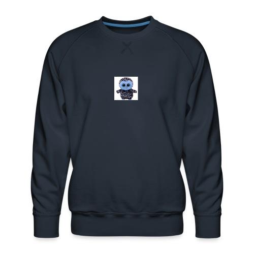 blue_hootie - Men's Premium Sweatshirt
