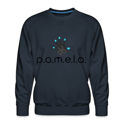 P.A.M.E.L.A. Logo Black - Men's Premium Sweatshirt