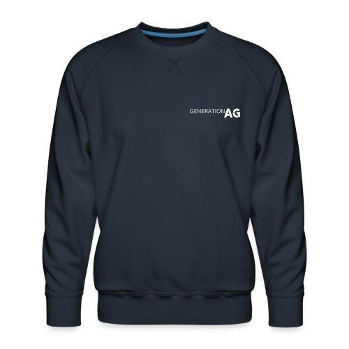 Generation Ag White - Men's Premium Sweatshirt