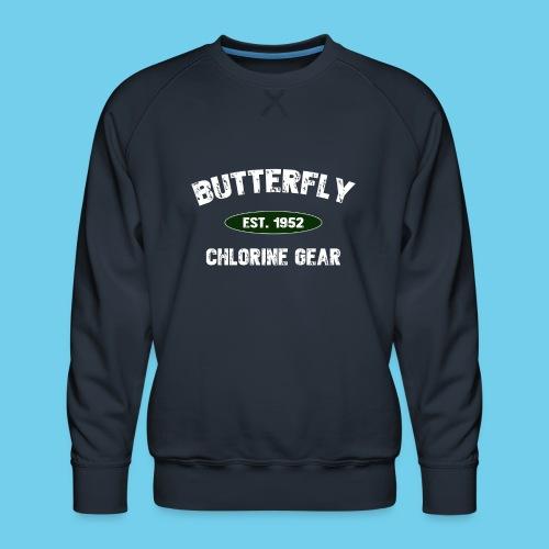 Butterfly est 1952-M - Men's Premium Sweatshirt