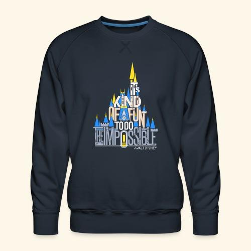 It's Kind of Fun... Original - Men's Premium Sweatshirt