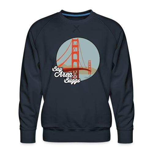 Bay Area Buggs Bridge Design - Men's Premium Sweatshirt