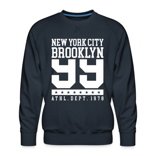 new york city brooklyn - Men's Premium Sweatshirt