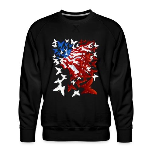 The Butterfly Flag - Men's Premium Sweatshirt