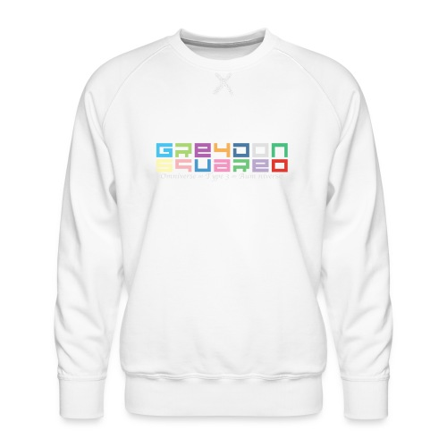 Greydon Square Colorful Tshirt Type 3 - Men's Premium Sweatshirt