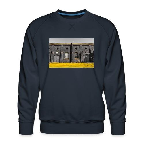 Bricks: who worked here - Men's Premium Sweatshirt