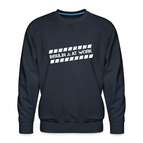 Insulin At Work - Men's Premium Sweatshirt