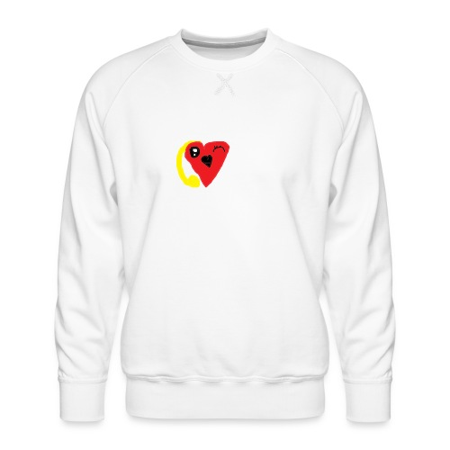 love heat - Men's Premium Sweatshirt