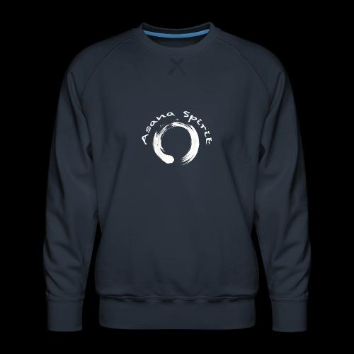 Enso Ring - Asana Spirit - Men's Premium Sweatshirt