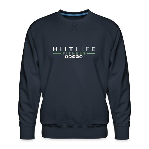 hlfsocialwht - Men's Premium Sweatshirt