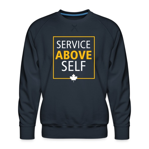 Service Above Self - Men's Premium Sweatshirt