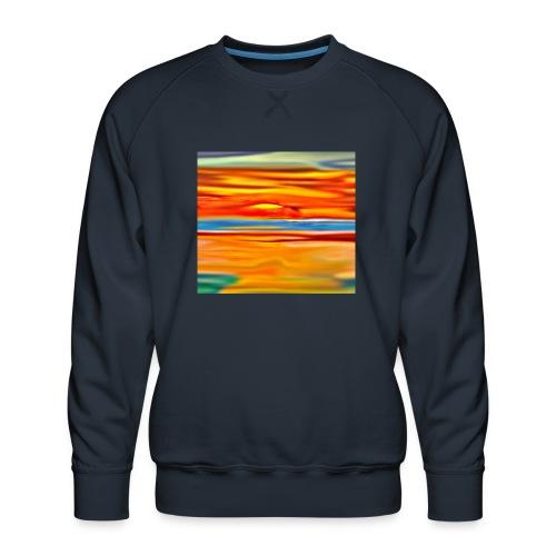 Orange rise - Men's Premium Sweatshirt