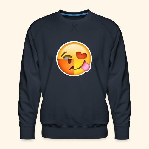 E Tees , Unique , Love , Cry, angry - Men's Premium Sweatshirt