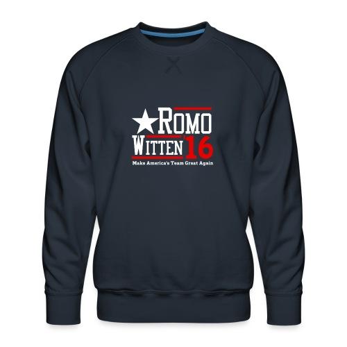 Make America's Team Great Again - Men's Premium Sweatshirt