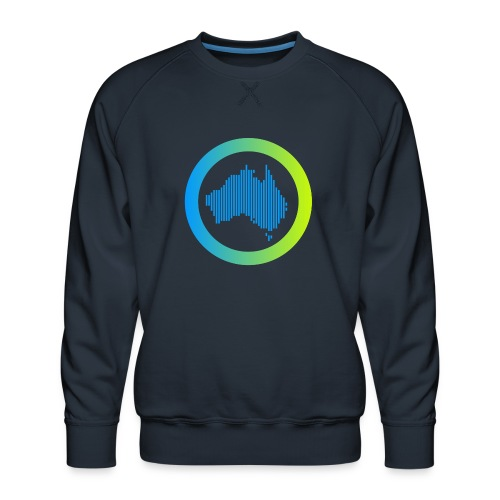 Gradient Symbol Only - Men's Premium Sweatshirt
