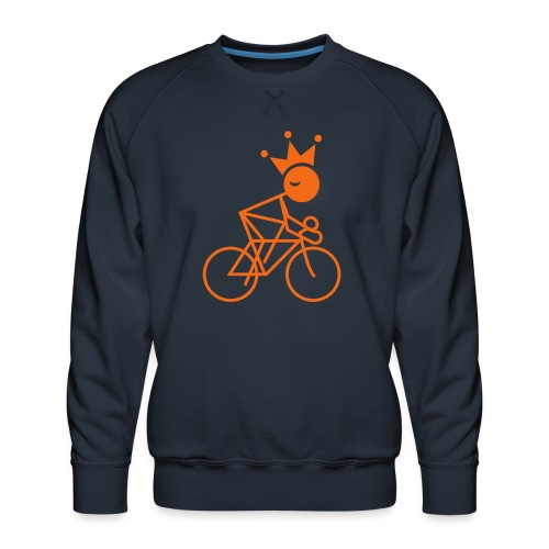 Winky Cycling King - Men's Premium Sweatshirt