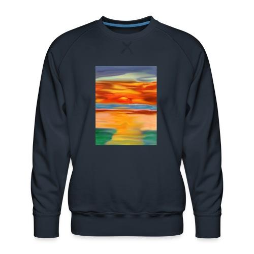 sketch 1527086621355 here comes the sun - Men's Premium Sweatshirt